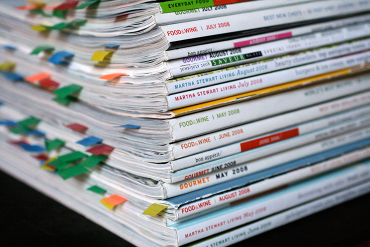 Photo:Magazine Stack